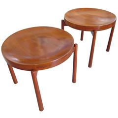 Pair of Danish Tray Tables by Jens Quistgaard