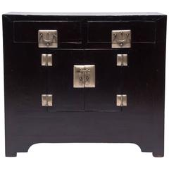 Two-Drawer Two-Door Cushion Front Chest