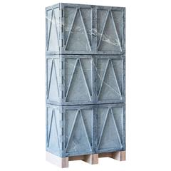 Fort Standard Relief Stone Cabinet