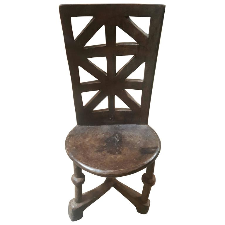 African Chair 1