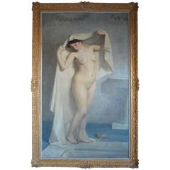 Nude Painting of a Woman by A.Roberty
