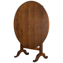 19th Century French Tilt-Top Table