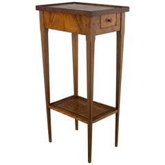 Italian Marquetry Side Table