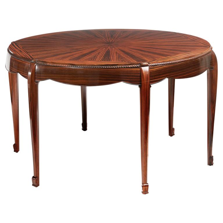 Round Table by Sue & Mare, circa 1925
