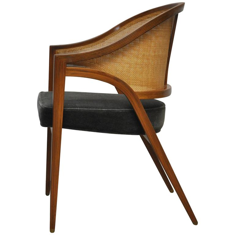 "Dunbar ""Y-Back Captain Chair"" by Edward Wormley For Sale"