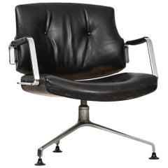 Preben Fabricius & Jørgen Kastholm Office Chair Model FK84