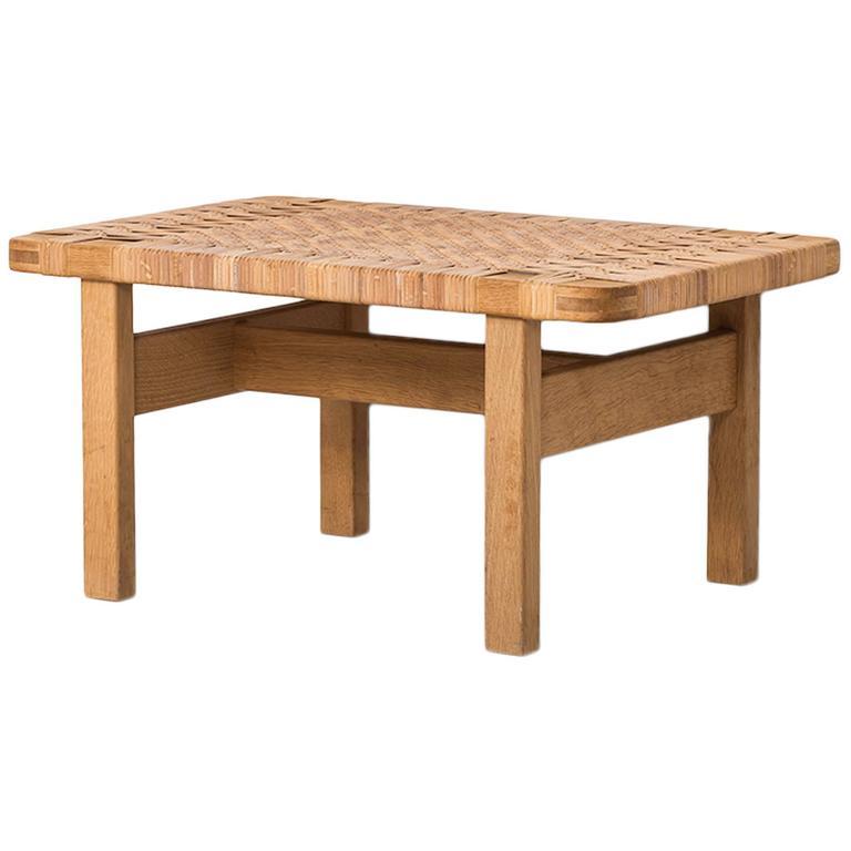 Børge Mogensen Side Table Produced by Fredericia Stolefabrik in Denmark
