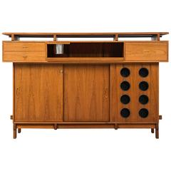 Bar Cabinet in Teak Produced by Dyrlund in Denmark