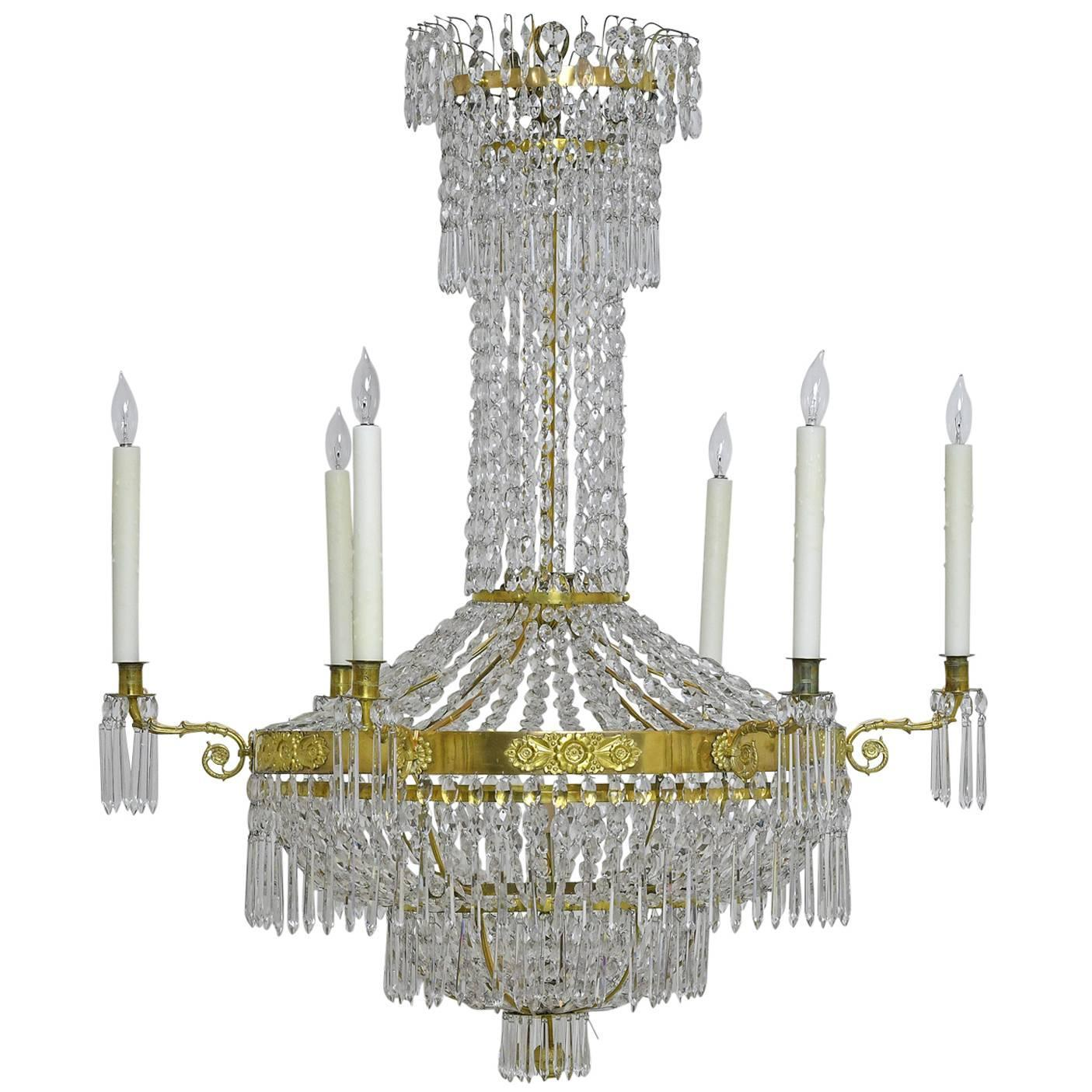 Early 19th Century Chandeliers and Pendants 175 For Sale at 1stdibs
