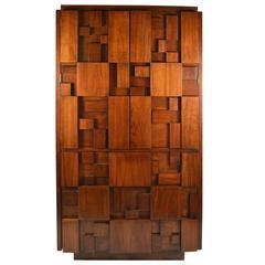 Brutalist Lane Mosaic Chifferobe Wardrobe Dresser