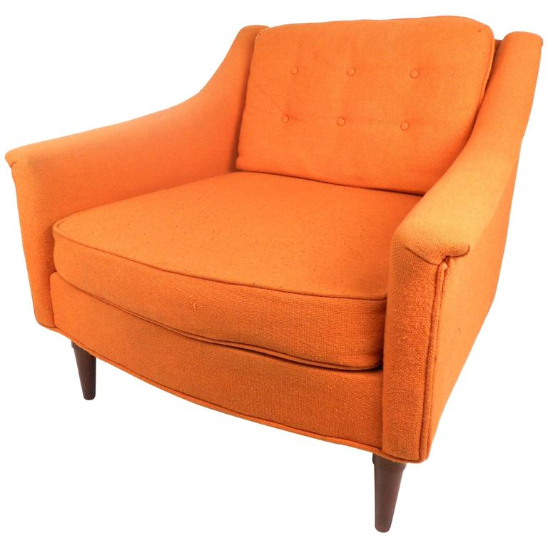 Mid-Century Modern Danish Lounge Chair by Selig