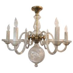 Italian Champagne Glass Classical Chandelier