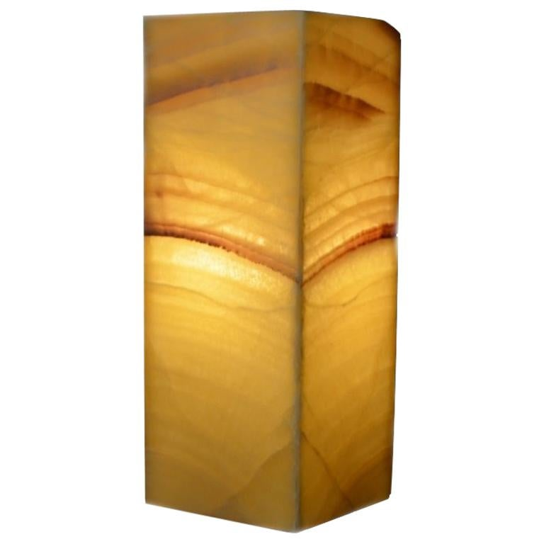 Ambient Table Lamp in Onyx For Sale