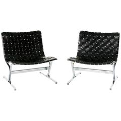 Set of Two Lounge Chairs by Ross Littell in Perfect Condition