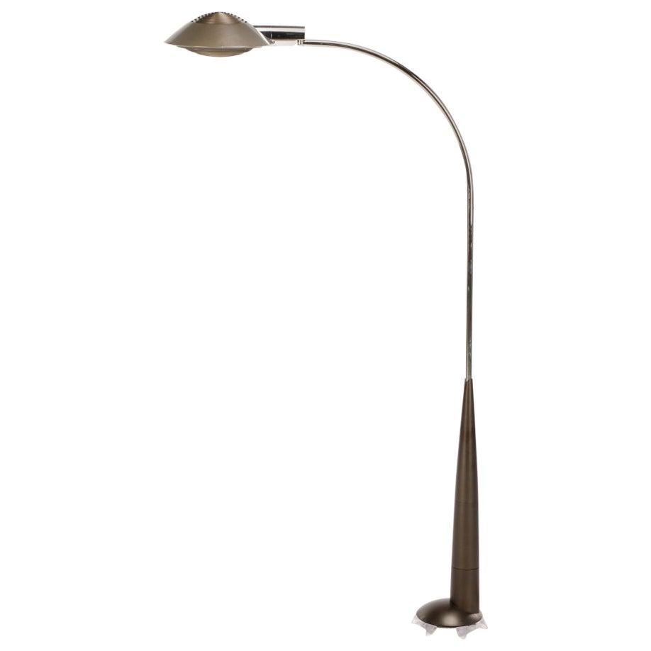 Bronze Floor Lamp by Cedric Hartman