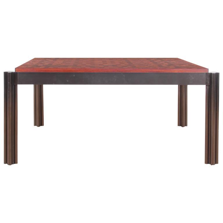 Mid-Century Modern Coffee Table in Teak by Rolf Middelboe & Gorm Lindum