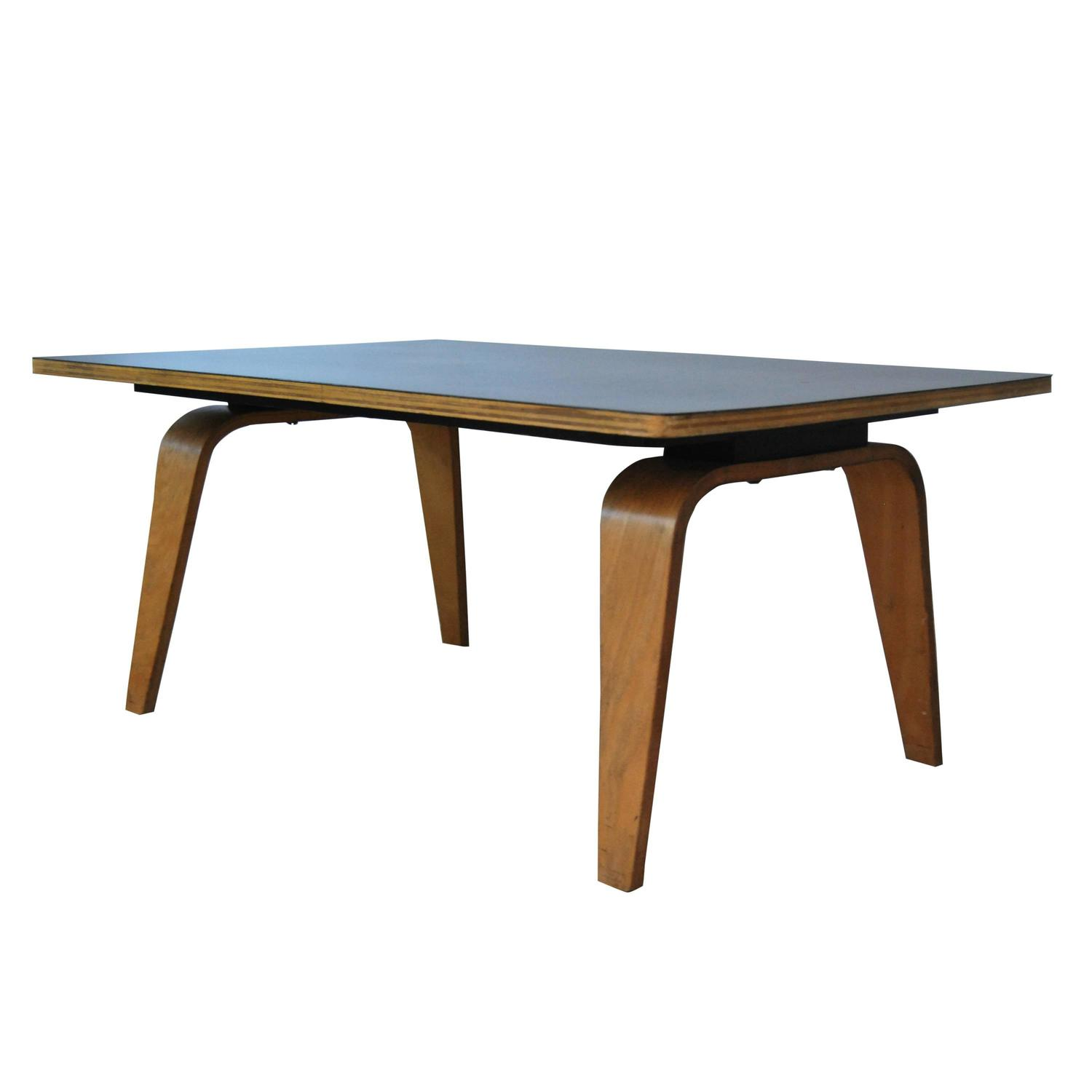 Early Eames OTW Coffee Table circa 1946 For Sale at 1stdibs