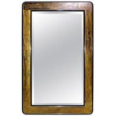 Original Bernhard Rohne Acid Etched Mirror for Mastercraft