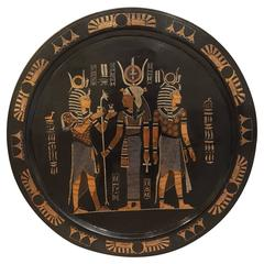 Egyptian Revival Copper Wall Art