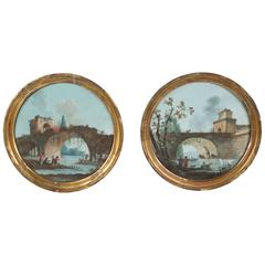 Pair of 18th Century Gouache