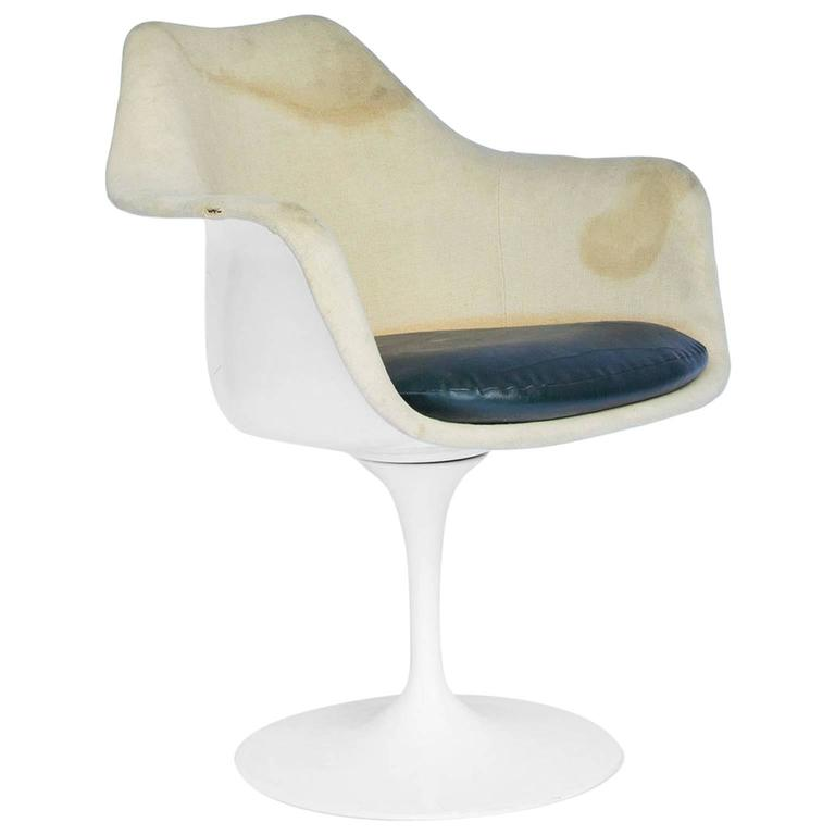 1956, Eero Saarinen, Original Knoll Eero Saarinen Tulip Armchair For Sale