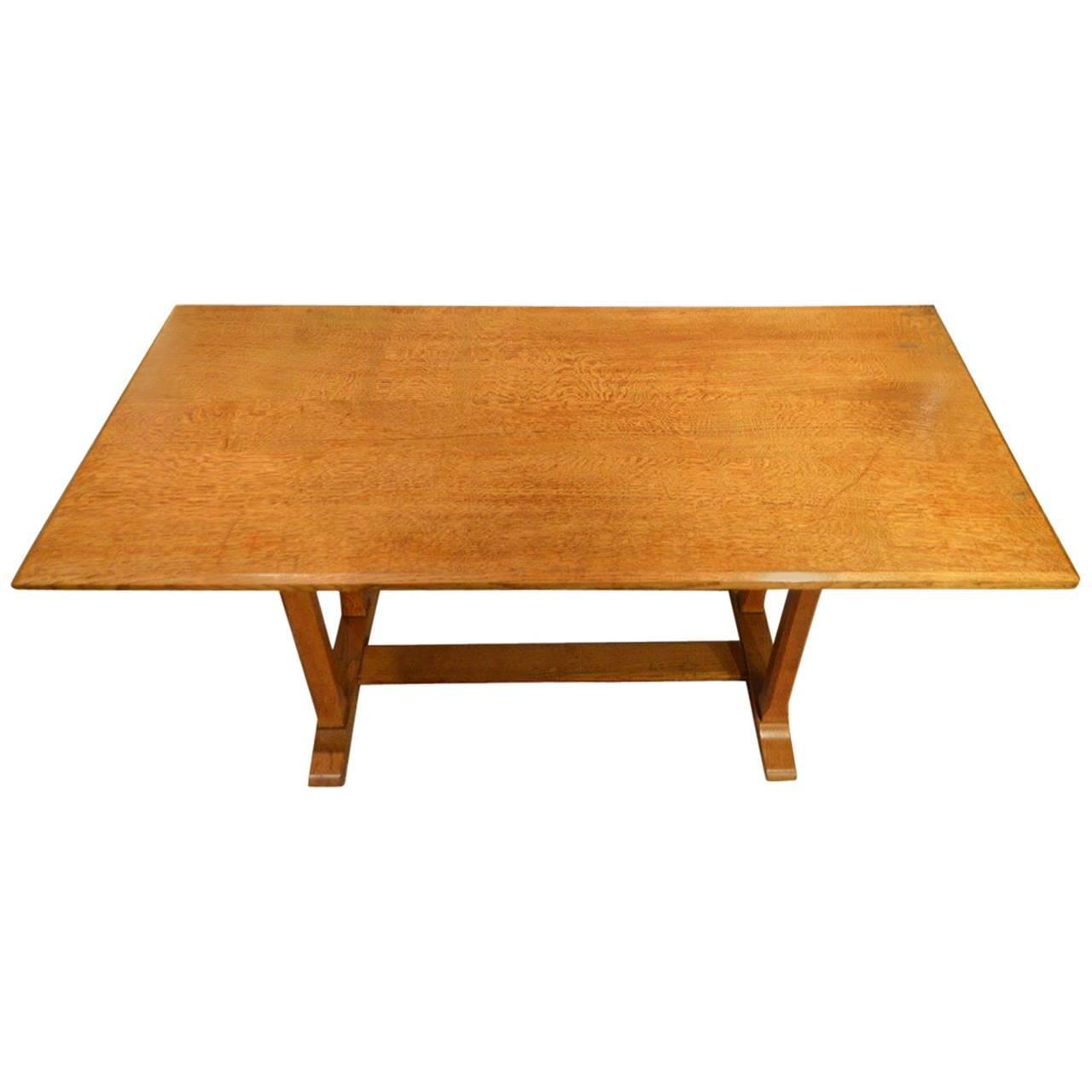 Gordon Russell Coffee Table Oak Arts And Crafts Period Refectory Table By Gordon Russell At