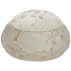 """Rene Lalique Covered Box """"Dinard"""""""