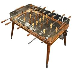 Awesome Crystal and Wood Football Table