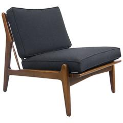 Rare Ib Kodod Larsen  Slipper Chair