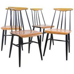 Fanett Dining Chairs by Ilmari Tapiovaara