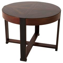 Stunning Art Deco Haagse School Coffee Table by P.E.L.Izeren for L.O.V.