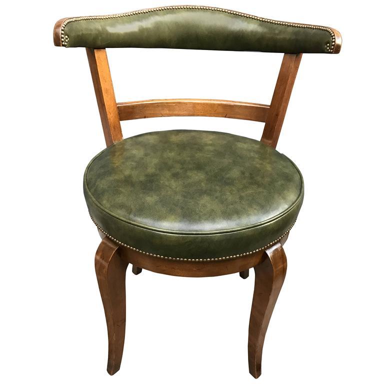 Mid-Century American Revolving Vanity or Desk Chair