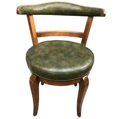 Mid-Century American Swivel Vanity or Desk Chair