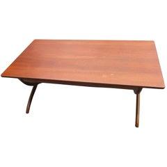 1951 Rud Rasmussen Adjustable Coffee Table
