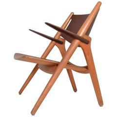 Hans Wegner Sawbuck Chair. Denmark,c.1951
