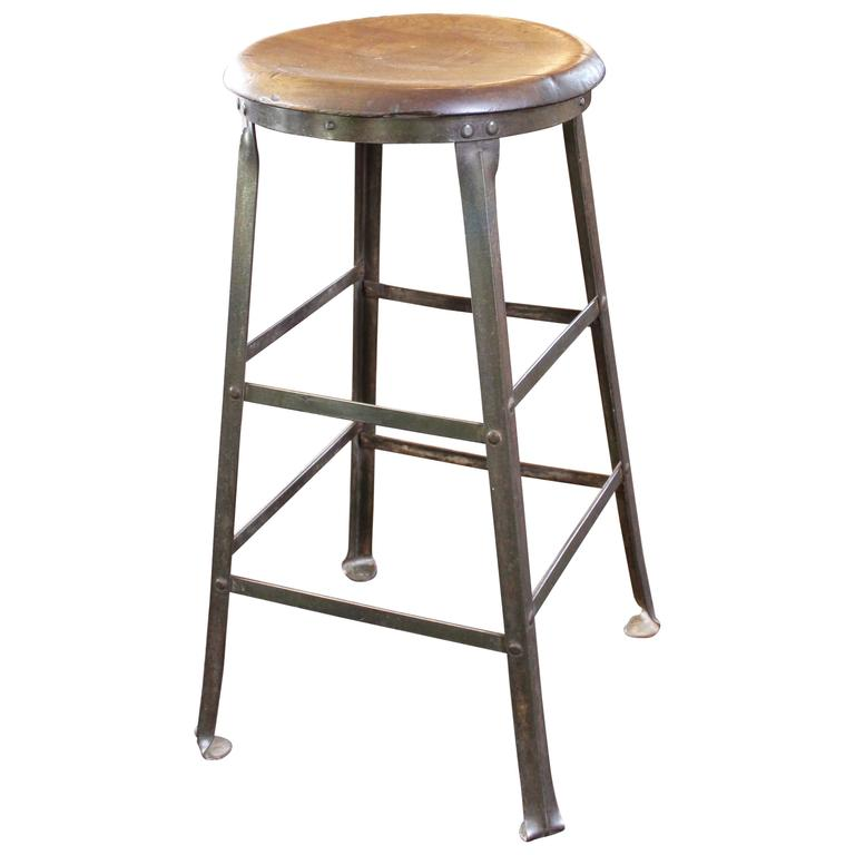 metal stools stool bar counter steel flint