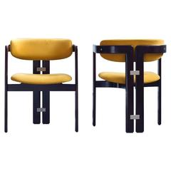 'Pamplona' chairs by Augusto Savini for Pozzi
