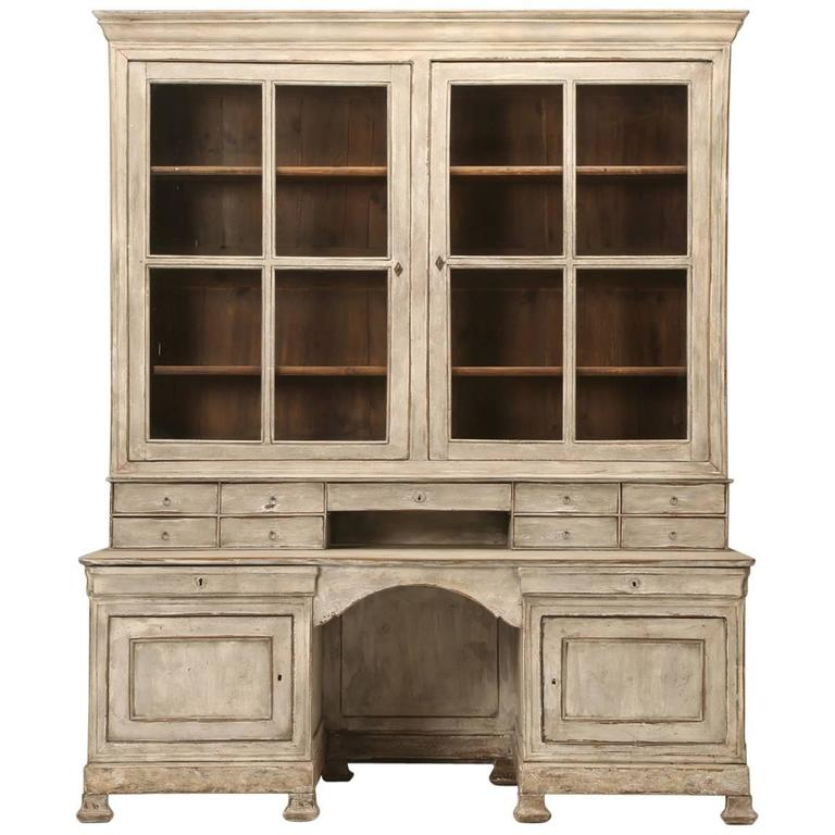 Antique French Bookcase And Desk For Sale At 1stdibs