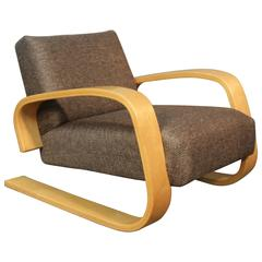 Alvar Aalto Newly Upholstered Tank Chair