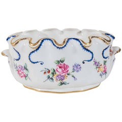 Antique Porcelain Planter for Flowers