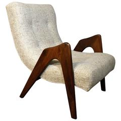 Adrian Pearsall Sculptural Lounge Chair for Craft Associates, Mid-Century Modern