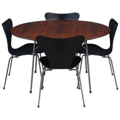 Dining Set by Arne Jacobsen