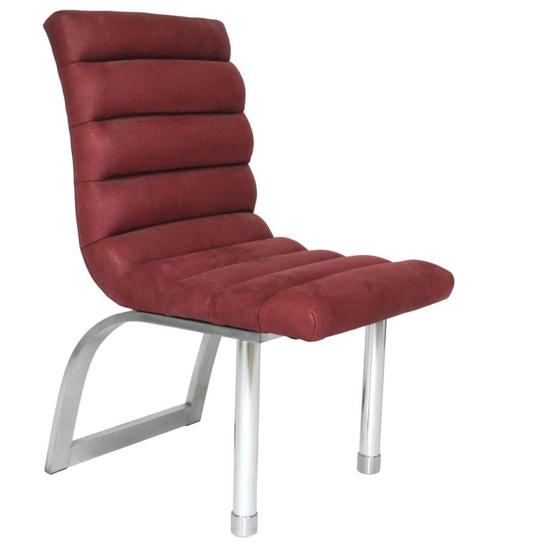 """Jay Spectre for Century """"Eclipse"""" Side Chair For Sale"""