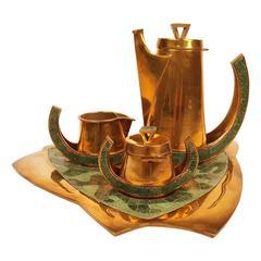 Salvador Teran Coffee Tea Service