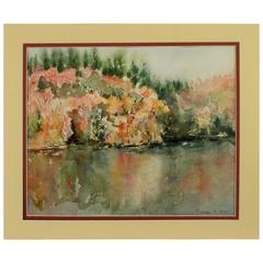 Foliage Watercolor Painting