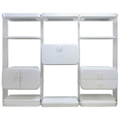 Pace Collection Attributed Lucite Modular Bar Wall System