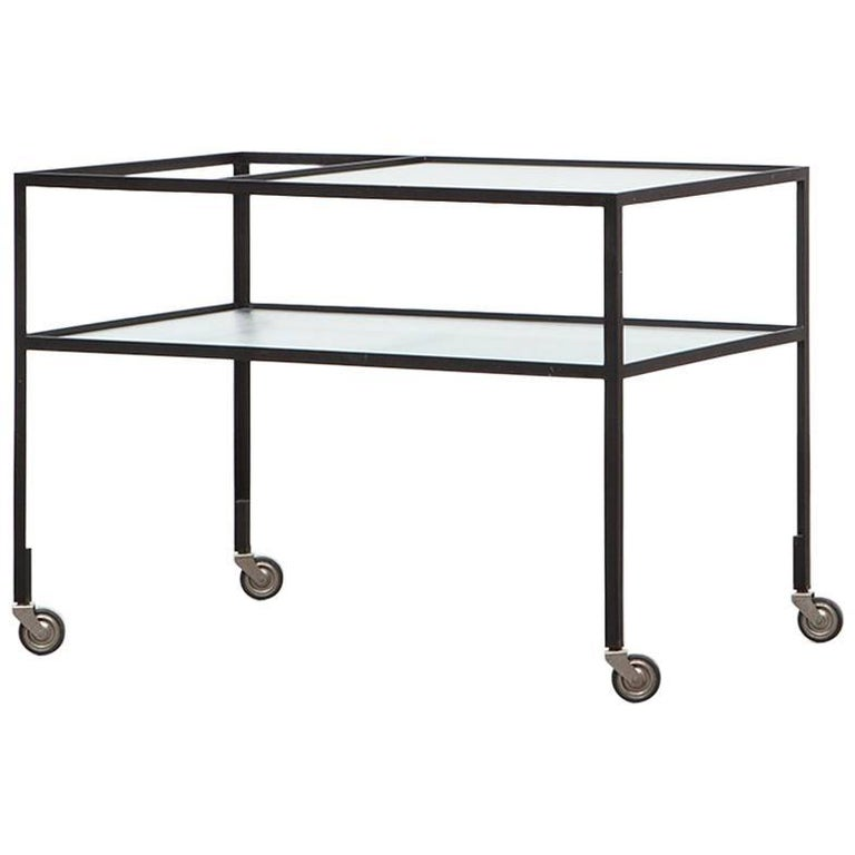Herbert hirche bar cart christian holz pfel kg 1956 at 1stdibs for Christian holzapfel