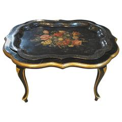 Charming Early 20th Century Chinoiserie Coffee Table