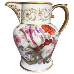 Paris Porcelain Neoclassical Pitcher