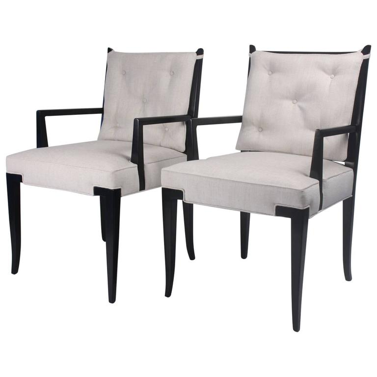 Pair of Tommi Parzinger Side Chairs 1